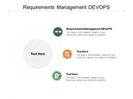 Requirements Management DEVOPS Ppt Powerpoint Presentation Styles Cpb