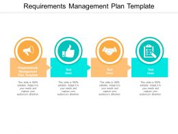 Requirements Management Plan Template Ppt Powerpoint Presentation Cpb