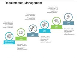 Requirements Management Ppt Powerpoint Presentation File Demonstration Cpb