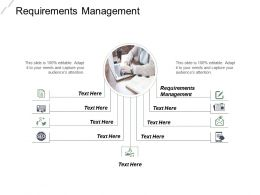 Requirements Management Ppt Powerpoint Presentation File Graphics Pictures Cpb