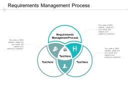 Requirements Management Process Ppt Powerpoint Presentation Portfolio Slide Cpb