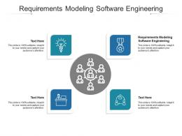 Requirements Modeling Software Engineering Ppt Powerpoint Presentation Infographics Cpb