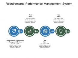 Requirements Performance Management System Ppt Powerpoint Presentation File Cpb