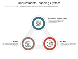 Requirements Planning System Ppt Powerpoint Presentation Infographic Template Guidelines Cpb