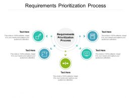 Requirements Prioritization Process Ppt Powerpoint Presentation Summary Brochure Cpb