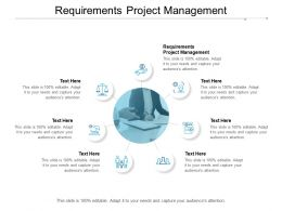 Requirements Project Management Ppt Powerpoint Presentation Gallery Design Ideas Cpb