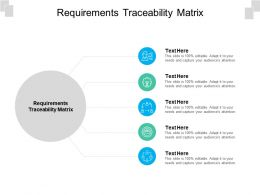Requirements Traceability Matrix Ppt Powerpoint Ideas Topics Cpb