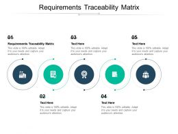 Requirements Traceability Matrix Ppt Powerpoint Presentation File Graphics Download Cpb