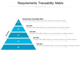 Requirements Traceability Matrix Ppt Powerpoint Presentation Graphics Cpb