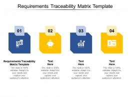 Requirements Traceability Matrix Template Ppt Powerpoint Presentation Model Infographic Cpb