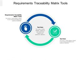 Requirements Traceability Matrix Tools Ppt Powerpoint Presentation Styles Topics Cpb