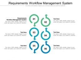 Requirements Workflow Management System Ppt Powerpoint Background Images Cpb