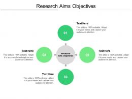 Research Aims Objectives Ppt Powerpoint Presentation Outline File Formats Cpb