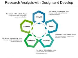 Research Analysis With Design And Develop Template 1