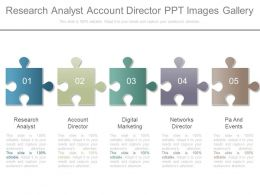Research Analyst Account Director Ppt Images Gallery