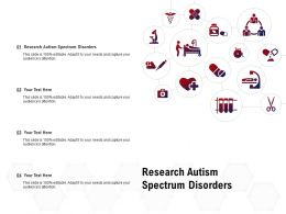 Research Autism Spectrum Disorders Ppt Powerpoint Presentation Professional Master