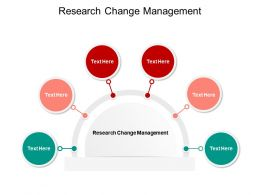 Research Change Management Ppt Powerpoint Presentation Summary Slides Cpb