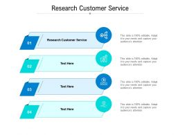 Research Customer Service Ppt Powerpoint Presentation Model Inspiration Cpb