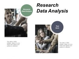 Research Data Analysis Ppt Powerpoint Presentation Model Samples Cpb