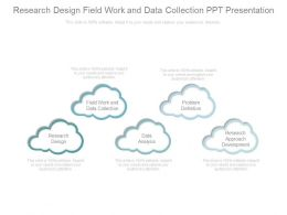 Research Design Field Work And Data Collection Ppt Presentation