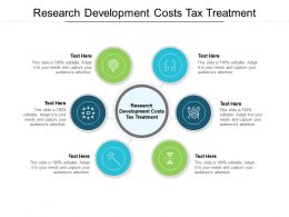 Research Development Costs Tax Treatment Ppt Powerpoint Presentation Infographics Cpb