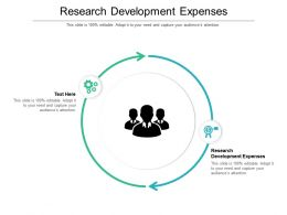 Research Development Expenses Ppt Powerpoint Presentation Styles Files Cpb