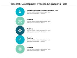 Research Development Process Engineering Field Ppt Powerpoint Show Gallery Cpb