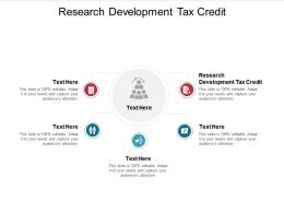 Research Development Tax Credit Ppt Powerpoint Presentation Outline Template Cpb
