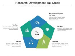 Research Development Tax Credit Ppt Presentation Outline Information Cpb