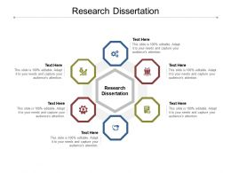 Research Dissertation Ppt Powerpoint Presentation Infographic Template Graphics Cpb