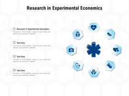 Research In Experimental Economics Ppt Powerpoint Presentation Model Microsoft