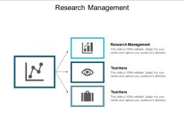 Research Management Ppt Powerpoint Presentation Summary Demonstration Cpb