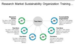 Research Market Sustainability Organization Training Roadmap Template Promotion Goods Cpb