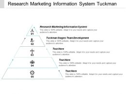 Research Marketing Information System Tuckman Stages Team Development Cpb