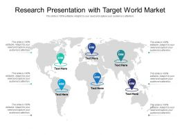 Research Presentation With Target World Market