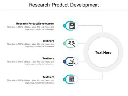Research Product Development Ppt Powerpoint Presentation File Deck Cpb