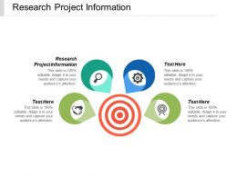 Research Project Information Ppt Powerpoint Presentation Infographics Example Cpb