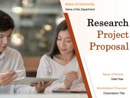 Research Project Proposal Powerpoint Presentation Slides