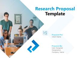 Research Proposal Template Powerpoint Presentation Slides