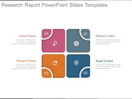 Research Report Powerpoint Slides Templates