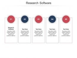 Research Software Ppt Powerpoint Presentation Outline Objects Cpb