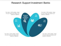 Research Support Investment Banks Ppt Powerpoint Presentation Design Ideas Cpb
