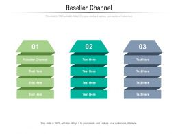 Reseller Channel Ppt Powerpoint Presentation Gallery Smartart Cpb