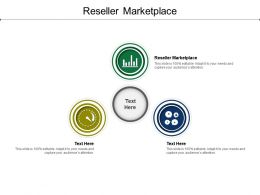 Reseller Marketplace Ppt Powerpoint Presentation Pictures Infographic Template Cpb