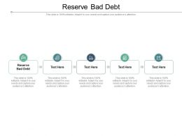 Reserve Bad Debt Ppt Powerpoint Presentation Slides Graphics Example Cpb