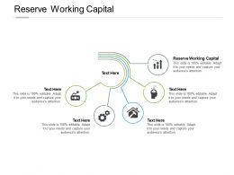 Reserve Working Capital Ppt Powerpoint Presentation Portfolio Background Designs Cpb