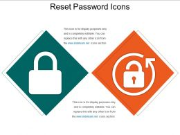 Reset Password Icons