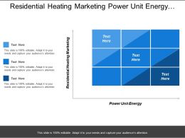 Residential Heating Marketing Power Unit Energy Pressure Charging System