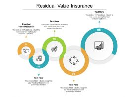 Residual Value Insurance Ppt Powerpoint Presentation Model Introduction Cpb