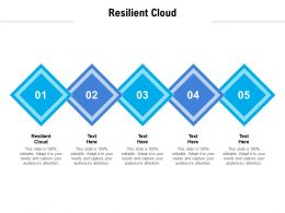 Resilient Cloud Ppt Powerpoint Presentation Infographic Template Pictures Cpb